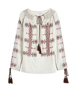 Christophe Sauvat | Embroidered Cotton Tunic Gr. M