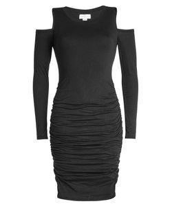 Velvet   Jersey Dress With Cut-Out Shoulders Gr. S