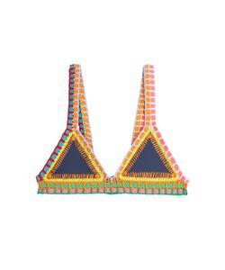 KIINI | Crochet Trimmed Bikini Top Gr. M