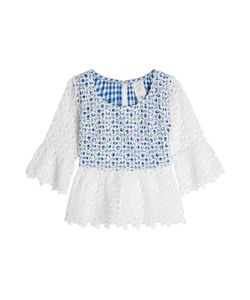 Anna Sui | Eyelet Top Gr. Us 6