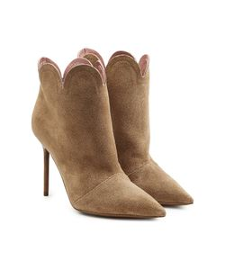 Burberry | Suede Ankle Boots Gr. It 37.5