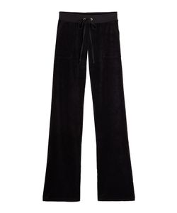 Juicy Couture | Straight Leg Velour Track Pants Gr. S
