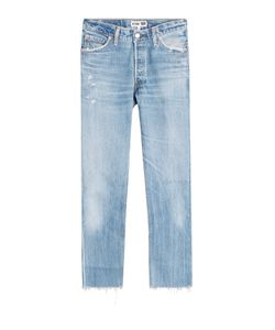 Re/Done | Straight Cropped Jeans Gr. 26