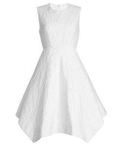 Delpozo   Embroidered Dress In Linen Gr. Fr 40