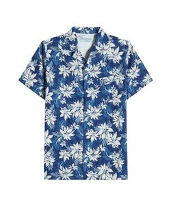 Officine Generale | Printed Cotton Shirt Gr. L
