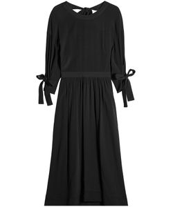 ROSETTA GETTY | Midi Dress With Knotted Sleeves And Open Back Gr. Us 8
