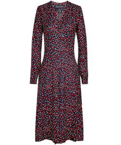 VANESSA SEWARD | Printed Silk Midi Dress Gr. Fr 36