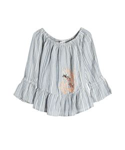 Christophe Sauvat | Embroidered Cotton Blouse Gr. M