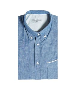 Officine Generale | Cotton Chambray Shirt Gr. M