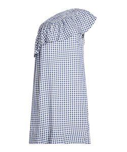 Velvet   Gingham Dress Gr. Xs