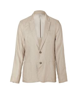 Michael Kors | Khaki Two Button Linen Blazer Gr. L