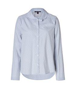 Princesse Tam Tam | Cotton Pajama Top In Bleu Chem Gr. 34