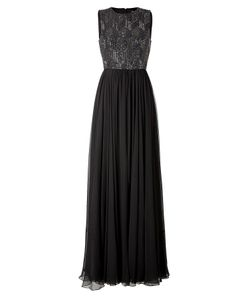 Jenny Packham | Silk Gown In Licorice Gr. 40