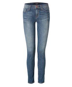 J Brand Jeans | Mid Rise Skinny Jeans In Blue Gr. 24