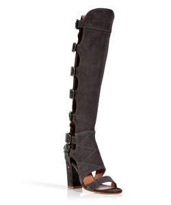 Laurence Dacade | Suede Open Toe Fatal Boots Gr. 36