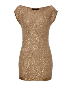 Donna Karan New York | Cashmere Sequined Tunic Gr. S