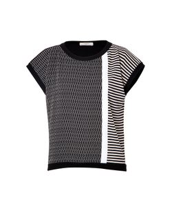 Bouchra Jarrar | Mixed Knit Top Gr. Fr 36