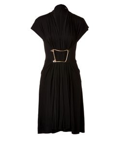 Marios Schwab | Jersey Dress With Gilded Belt Detail Gr. 36