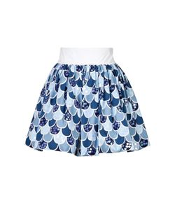 Olympia Le-Tan | Cotton Fish Scale Skirt Gr. Fr 38