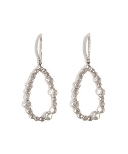 Susan Foster | 18k White Gold Chandelier Earrings With Diamonds Gr. One Size