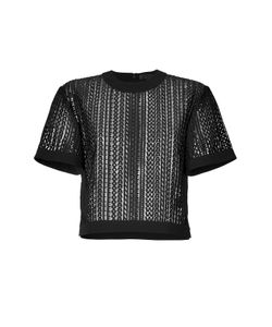 Alexander Wang | Boxy Top With Logo Gr. S