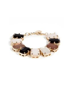 R.J.Graziano | Line Bangle In Black Gr. One Size