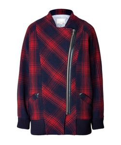 Girl By Band Of Outsiders | Wool Blend Plaid Jacket Gr. 2