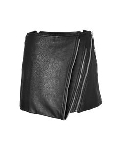 Barbara Bui | Leather Mini-Skirt With Zip Detailing Gr. 34
