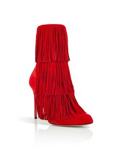 Paul Andrew | Suede Fringed Taos Boots Gr. It 37