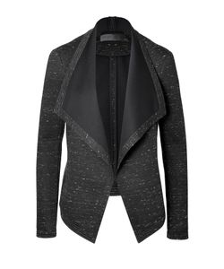 Donna Karan New York   Draped Front Knit Blazer Gr. 40