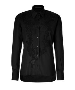 Ermanno Scervino | Embroidered Cotton Top Gr. It 40