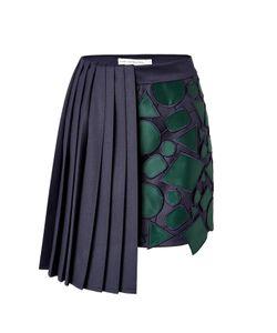 Mary Katrantzou | Wool Jumbar Mini-Skirt Gr. Uk 8
