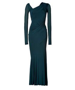 Donna Karan New York   Draped Jersey Evening Gown Gr. S