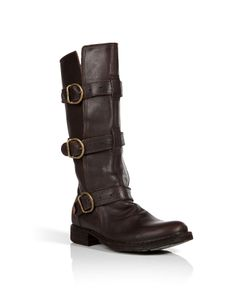 Fiorentini+Baker | Leather Buckled Boots Gr. 38