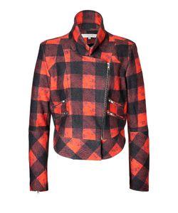 Preen Line   Printed Wool Biker Jacket Gr. S