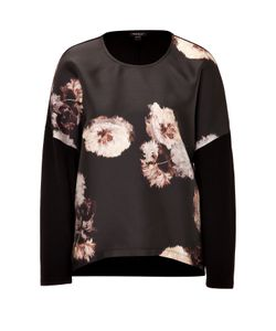 Giambattista Valli | Silk Blend Top With Floral Print Gr. 40