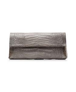 Nancy Gonzalez | Crocodile Fold-Over Clutch Gr. One Size