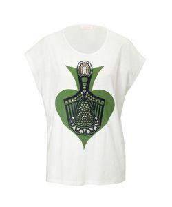 SASS & BIDE | Cotton Embellished T-Shirt Gr. S