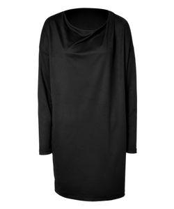 Clemens en August | Wool-Silk Cowl Neck Dress Gr. S