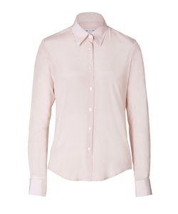 Clemens en August | Stretch Silk Shirt Gr. 34