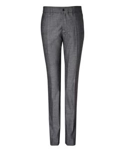 Clemens en August | Slim Leg Wool-Silk Trousers Gr. 34