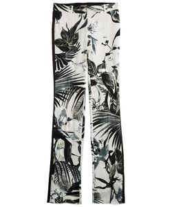 Roberto Cavalli | Printed Crepe Pants Gr. It 40