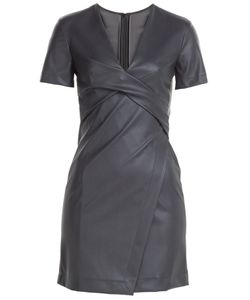Cedric Charlier | Faux Leather Dress Gr. It 40