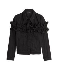 SIMONE ROCHA X J BRAND | Denim Jacket With Frill Detail Gr. M