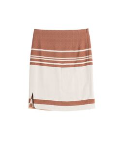 J.W. Anderson | Striped Crepe Skirt Gr. 36