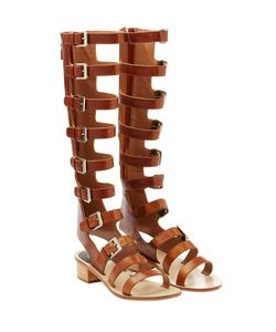 Laurence Dacade | Halle Leather Gladiator Sandals Gr. 38