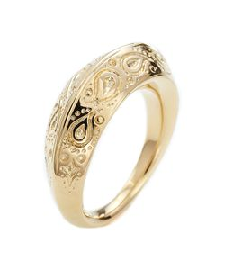 Aurelie Bidermann | Apache Embossed Ring Gr. 54