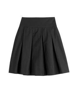 Donna Karan New York | Stretch Cotton Skirt Gr. 40