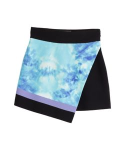 Fausto Puglisi | Silk Mini Skirt With Tie-Dye Print Gr. It 38