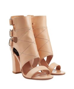 Laurence Dacade | Felicite Block Heel Leather Sandals Gr. 36